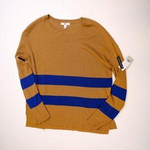 BP Nordstrom Varsity Stripe Knit Pullover Sweater
